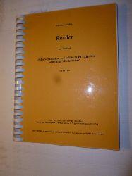 Rolf Meinhardt (Hrsg.)  Reader zum Seminar Selbstorgarnisation und politische Partizipation ethnischer Minderheiten im SS 1997 (Carl von Ossietzky Universität Oldenburg)