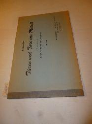 Thielen, Joseph [Hrsg.]  Zeitgemässe Türen und Tore aus Metall. Herausgegeben von Joseph Thielen und seinen Mitarbeitern. Folge 1