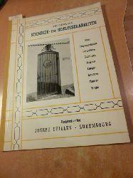 Thielen, Joseph [Hrsg.]  Zeitgemässe Schmiede- und Schlosserarbeiten :  Gitter, Treppengeländer, Gartentüren, Einfahrten, Balkone, Lampen, Leuchten, Figuren, Tische
