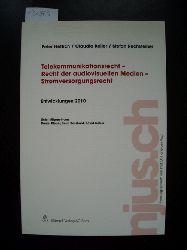 Peter Hettich, Claudia Keller, Stefan Rechsteiner  Telekommunikationsrecht - Recht der audiovisuellen Medien - Stromversorgungsrecht, Entwicklungen 2010 (njus.ch)