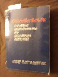(Hrsg.) Lutherischer Weltbund  *Offizieller Bericht der Vierten Vollversammlung des Lutherischen Weltbundes, Helsinki, 30. Juli - 11. August 1963