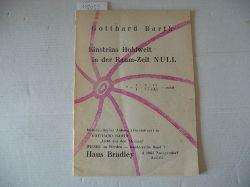 Barth, Gotthard  Einsteins Hohlwelt in der Raum-Zeit NULL
