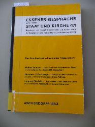 Leisner, Walter ; Pottmeyer, Hermann Josef  Essener Gespräche zum Thema Staat und Kirche 17 : das Krankenhaus in kirchlicher Trägerschaft