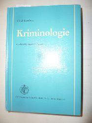 Eisenberg, Ulrich  Kriminologie