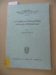 Dombek, Bernhard  Schriftenreihe zur Rechtssoziologie und Rechtstatsachenforschung ; Bd. 15  Das  Verhältnis der Tübinger Schule zur deutschen Rechtssoziologie