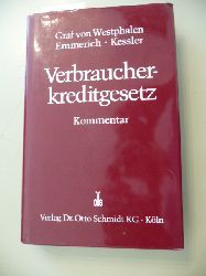 Westphalen, Friedrich <Graf von> ; Emmerich, Volker ; Kessler, Ronald  Verbraucherkreditgesetz : Kommentar