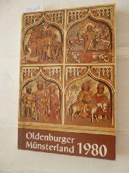 Dwertmann, Franz, Franz Hellbernd, Bösterling, Antonius u. a. (bearbeitet)  Jahrbuch für das Oldenburger Münsterland 1980 - (= Herausgegeben vom Heimatbund für das Oldenburger Münsterland