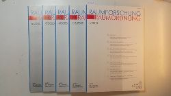 Akademie für Raumforschung und Landesplanung Hannover [Hrsg.]  Raumforschung und Raumordnung - 58. Jahrgang, Heft 1 - 6 / 2000 (5 Hefte)