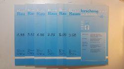 Akademie für Raumforschung und Landesplanung Hannover [Hrsg.]  Raumforschung und Raumordnung - 53. Jahrgang, Heft 1 - 6 / 1995 (6 Hefte)