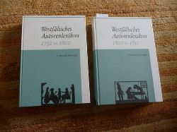 Gödden, Walter  *Westfälisches Autorenlexikon. Im Auftrag des Landschaftsverbandes Westfalen-Lippe: Westfälisches Autorenlexikon, in 4 Bänden., Band.1, 1750 bis 1800 + Band.2, 1800 bis 1850 (2 BÜCHER)