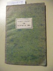 Paulsen, Rudolf  Die Meduse ; Bd. 1  Die  kosmische Fibel : (Dichtgn)