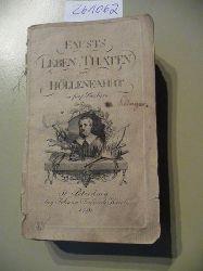 Diverse  Fausts Leben. Thaten und Höllenfahrt in fünf Büchern.