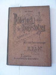 (Hrsg.) Vacano E.M.  Bilderbuch für Hagestolze. IV. Band - Redigirt von Emile Mario Vacano. Mit 100 Federzeichnungen von K. Klic.