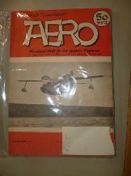 ANONYM  Aero. - Monatszeitschrift für das gesamte Flugwesen.Jahrgang 3 (in 11 Heften - 1 Doppelheft)