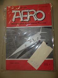 ANONYM  Aero. - Monatszeitschrift für das gesamte Flugwesen.Jahrgang 5 (in 11 Heften - 1 Doppelheft)