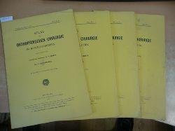 Hoffa, Albert & Rauenbusch, Ludwig  Atlas der orthopädischen Chirurgie in Röntgenbildern. Hier Lieferung 1 bis 34 mit den Tafeln I. bis XXXII.