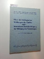 Scheler, Werner  Über die biologischen Wirkungen des Cholins unter besonderer Berücksichtigung der Wirkung des Neurotropan : (Trimethyl-oxyäthyl-ammonium-citrat)  Referat und Auszug aus der Originalarbeit.
