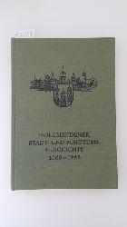 Reese, Paul/Mahnkopf, Kuno (Hrsg.)  300 Jahre Bürger- und Schützengeschichte der Stadt Holzminden 1668-1968. Mit zahlr. teilweise farb. Abb. auf Tafeln.