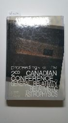 A. Coley, etc., C. Dyer, B. Tupper  General Relativity and Relativistic Astrophysics 1987: Conference Proceedings