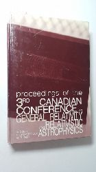 A. Coley, F. Cooperstock  Proceedings of the 3rd Canadian Conference on General Relativity and Relativistic Astrophysics University of Victoria 4-6 May 1989: Conference Proceedings