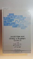 Abraham, N.B., Arecchi, F.T., Lugiato, L.A. [Hrsg.]  Instabilities and chaos in quantum optics II : (proceedings of a NATO Advanced Study Institute on Instabilites and Chaos in Quantum Optics, held June 28 - July 7, 1987, in Il Ciocco, Italy)