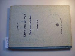 Tauterat, August ; Stahmer, Adolf  Kommentar zur VOB. Klempnerarbeiten : Teil C/DIN 18339