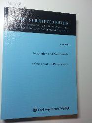 Diverse  FIW-Schrifteenreihe, Heft 228; Innovation und Wettbewerb