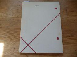 Hoghe, Raimund (Text)  Rolf Bendgens. Kunsthalle Düsseldorf 17. Juli bis 22. August 1982.