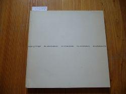 Gomringer, Eugen  die konstellationen - les constellations - the constellations - las constelaciones.