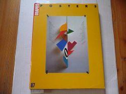 (Hrsg.) B. Martin Pedersen  Graphis Poster 87. Das internationale Jahrbuch der Plakatkunst