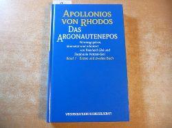Apollonius, Rhodius ; Glei, Reinhold [Hrsg.]  Das Argonautenepos : Band 1, Erstes und zweites Buc