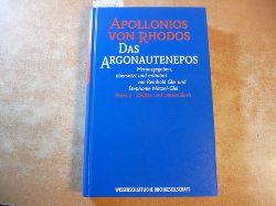 Apollonius, Rhodius (Rhodos) ; Glei, Reinhold [Hrsg.]  Das Argonautenepos. BAnd: 2, Drittes und viertes Buch