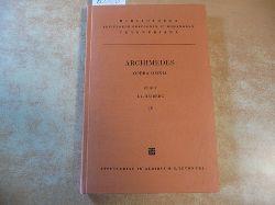 Archimedes ; Dold-Samplonius, Yvonne [Übers.]  Archimedis opera omnia cum commentariis eutocii. Vol. IV:  Archimedes über einander berührende Kreise (Bibliotheca Teubneriana)