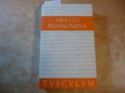 Aratos  Phainomena ( Griechisch -Deutsch . (Sammlung Tusculum)