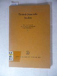 (Hrsg.) von der Deutsch-Japanischen Gesellschaft Nordwestdeutschland e.V.  Deutsch-japanische Studien. Heft 1.