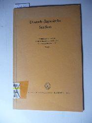 (Hrsg.) von der Deutsch-Japanischen Gesellschaft Nordwestdeutschland e.V.  Deutsch-japanische Studien. Heft 2.