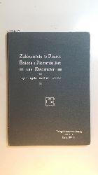 Weese, Ernst  Zahlentafeln für Platten, Balken und Platten-Balken aus Eisenbeton. Teil 2