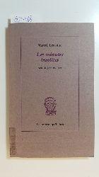 Lecomte, Marcel  Les minutes insolites et autres textes