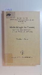 Braun, Günther E.  Methodologie der Planung : eine Studie zum abstrakten und konkreten Verständnis der Planung