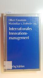 Gassmann, Oliver [Hrsg.]  Internationales Innovationsmanagement : Gestaltung von Innovationsprozessen im globalen Wettbewerb