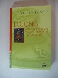 Chos-kyi-blo-gros bzw. Shamar Rinpoche (Verfasser)  Lojong : der buddhistische Weg zu Mitgefühl und Weisheit : ein Kommentar zu Ja Chekawa Yeshe Dorjes Geistestraining in sieben Punkten