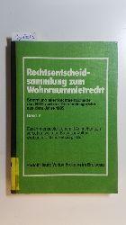 Diverse  Rechtsentscheidsammlung zum Wohnraummietrecht. Band V