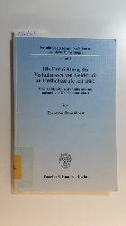 Stapenhorst, Hermann  Die Entwicklung des Verhältnisses von Geldstrafe zu Freiheitsstrafe seit 1882 : eine rechtshistorische Untersuchung anhand von Kriminalstatistiken