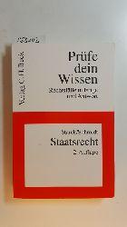 Starck, Christian [Hrsg.] ; Schmidt, Thorsten Ingo  Staatsrecht
