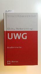 Götting, Horst-Peter [Hrsg.] ; Ackermann, Brunhilde  UWG : Handkommentar