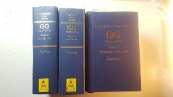 Mangoldt, Hermann von [Begr.] ; Klein, Friedrich [Bearb.] ; Starck, Christian [Hrsg.]  Kommentar zum Grundgesetz. Band 1+2+3 (3 Bände KOMPLETT)