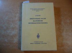 Peters, Johannes  Einführung in die allgemeine Informationstheorie