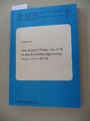 Hemmer, Dirk  Schriftenreihe des Fachbereichs Versicherungswesen der Fachhochschule Köln ; 7  Die  Einbeziehung von AVB in den Versicherungsvertrag nach neuem Recht