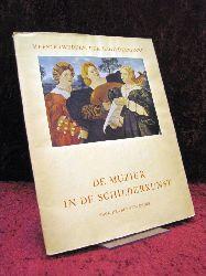 Denis, Prof. Dr. Valentin De Muziek in De Schilderkunst : Inleidung en Aantekeningen door Prof. Dr. Valentin Denis o.Ang. Aufl.