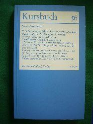 Michel, Karl Markus, Harald Wieser (Hrsg.) und Hans Markus Enzensberger (Mitarb.).  Kursbuch 56. Juni 1979. Unser Rechtsstaat.